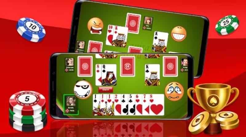 Luyện chơi với game phỏm offline