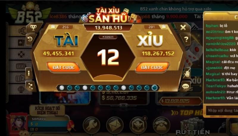 Tài xỉu là một dòng game đổi thưởng khá hấp dẫn, giúp cho người chơi sở hữu được nguồn lợi nhuận cực khủng