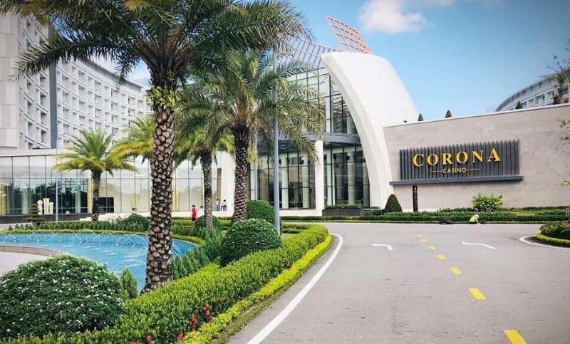 Corona Phú Quốc nằm tại Bãi Dài, xã Gành Dầu, Phú Quốc, Kiên Giang